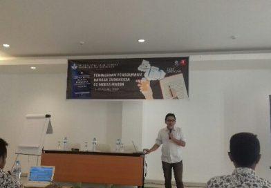 Penyuluhan Penggunaan Bahasa Indonesia Bagi Jurnalis, Banyak Kesalahan Dalam Penulisan Berita