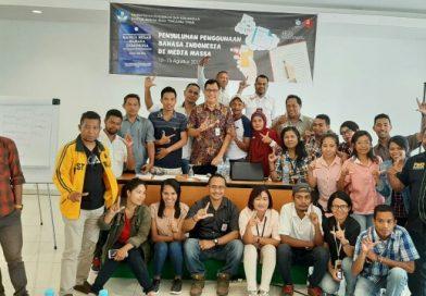 Penyuluhan Bahasa Indonesia Media Daring Berlangsung Asyik dan Beri Inspirasi Baru