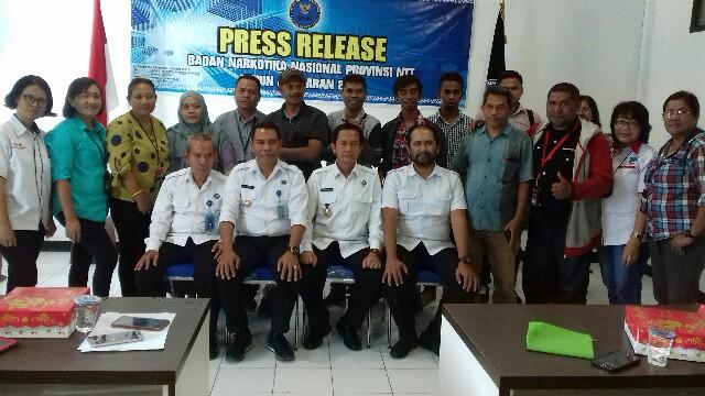 BNNP NTT Berhasil Ungkap Dua Kasus Peredaran Gelap Narkotika di Sikka