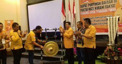 Penguatan kapasitas jelang Pilkada Serentak 2020, DPD NTT Partai Hanura Gelar Rapimda ke-13