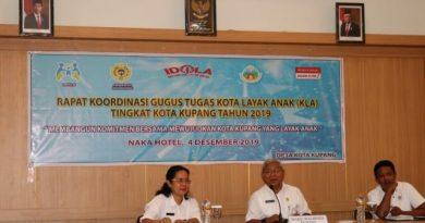 Wujudkan Kota Layak Anak, Dinas PPPA kota Kupang gelar Rakor Gugus Tugas