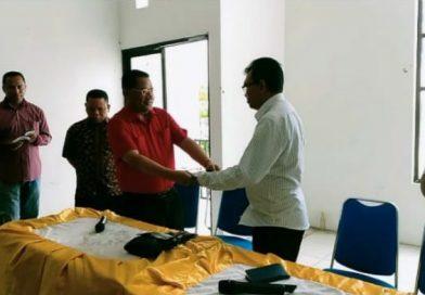 Johnson Dethan,S.Th,M.Div dan Alberth Riwu Kore,S.H,.M.Hum resmi alih kelola Universitas San Pedro NTT