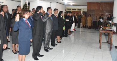 Ini 36 pejabat struktural lingkup pemkot Kupang yang baru dilantik