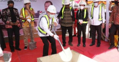 Menkes dr.Terawan Letakkan Batu Pertama Pembangunan RSUP Kupang